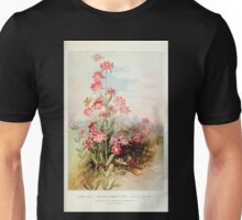 Southern wild flowers and trees together with shrubs vines Alice Lounsberry 1901 141 Boykin's MArsh Pink Unisex T-Shirt