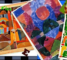 I Love Paul Klee - Collage by virginia5050