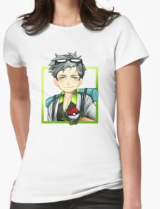 Professor Willow Womens Fitted T-Shirt