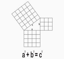 Pythagorean Diagram One Piece - Long Sleeve