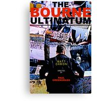 THE BOURNE ULTIMATUM 2 Canvas Print
