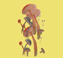 lost in mushrooms One Piece - Short Sleeve