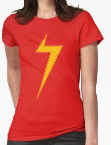 Marvelous Lightning Bolt Womens Fitted T-Shirt