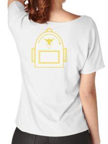 Pokemon Go backpack- Team Instinct Women's Relaxed Fit T-Shirt