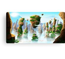 Floating Mountains Canvas Print