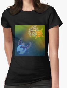 pokemon sun and moon Womens Fitted T-Shirt