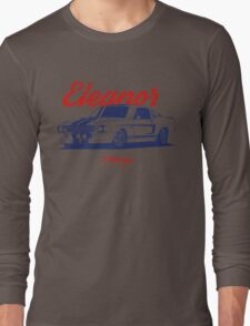 Mustang Shelby GT500 Eleanor Long Sleeve T-Shirt