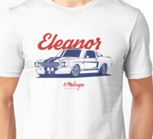 Mustang Shelby GT500 Eleanor Unisex T-Shirt