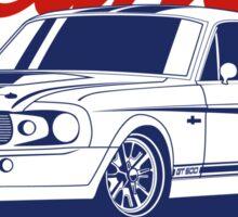 Mustang Shelby GT500 Eleanor Sticker