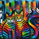Max , Hope and 3 Maggies by Karin Zeller
