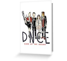DNCE Greeting Card