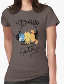Team Friendship Womens Fitted T-Shirt
