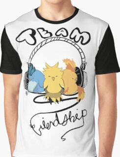 Team Friendship Graphic T-Shirt