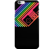 NES Controller Rainbow iPhone Case/Skin