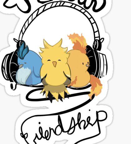 Team Friendship Sticker