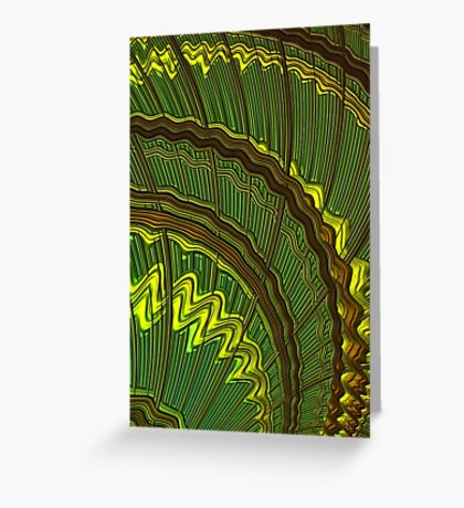 Celtic Harp Abstract Greeting Card