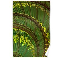 Celtic Harp Abstract Poster
