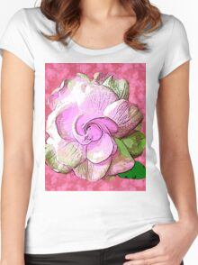 ROSE SO PINK Women's Fitted Scoop T-Shirt