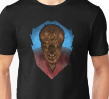 Where Does the Man End - And The Beast Begin? Unisex T-Shirt