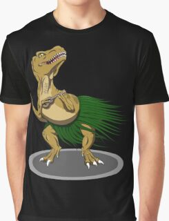 T-Rex Ukulele Graphic T-Shirt
