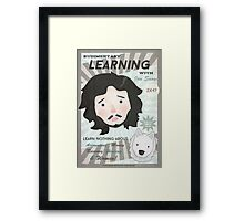 Learning with Jon Snow Framed Print