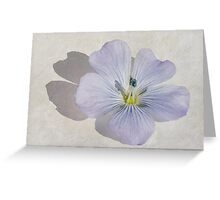 Linum Watercolour Greeting Card