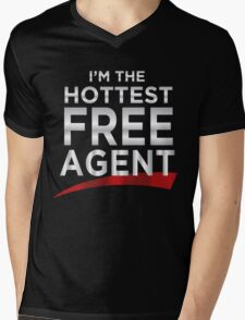 Heath Slater the Hottest Free Agent Mens V-Neck T-Shirt