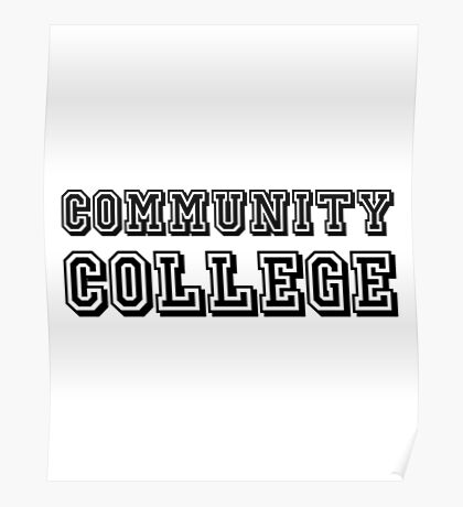 Community College Poster