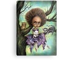 Cynthia and Critters Metal Print