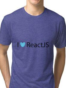 I <3 ReactJS Tri-blend T-Shirt