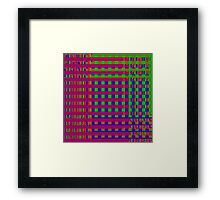 TIME AND SPACE SEPARATING IN THE ELEVENTH UNIVERSE Framed Print