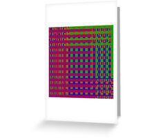 TIME AND SPACE SEPARATING IN THE ELEVENTH UNIVERSE Greeting Card