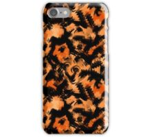 Abstraction. Watercolor scribbles and smears. iPhone Case/Skin