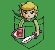 """Pocket Link"" Legend of Zelda T-shirt by scheme710"