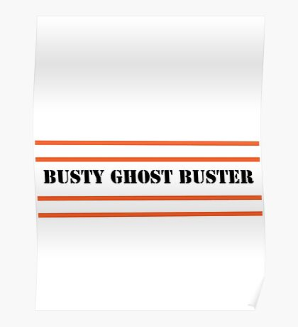 Busty Ghostbuster Poster