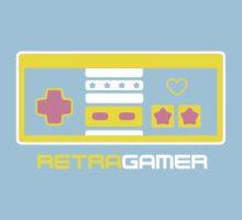 Retra Gamer - NES Controller One Piece - Short Sleeve