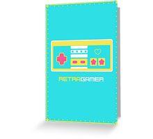 Retra Gamer - NES Controller Greeting Card