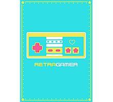 Retra Gamer - NES Controller Photographic Print