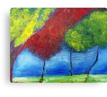 Serenity Park Two Canvas Print