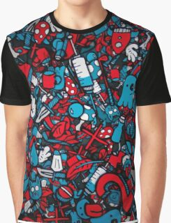 cartoon abstract Graphic T-Shirt