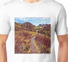 Hallucination Desert Path Unisex T-Shirt