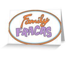 Family Fracas Greeting Card