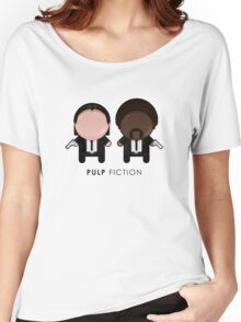 Pulp Fiction // Jules and Vincent Women's Relaxed Fit T-Shirt
