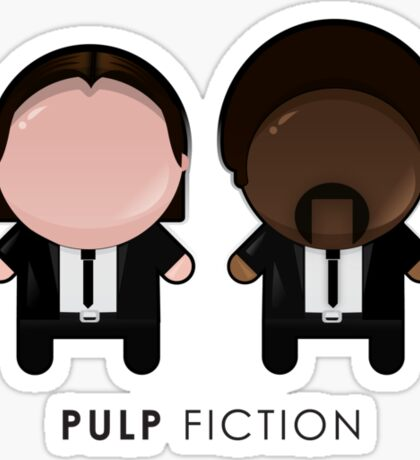 Pulp Fiction // Jules and Vincent Sticker