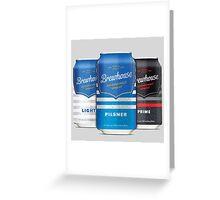 Brewhouse Pilsner Beer Greeting Card