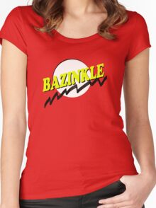 Bazinkle Women's Fitted Scoop T-Shirt