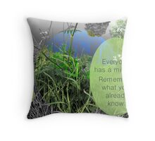 Mundy quote #8 Throw Pillow