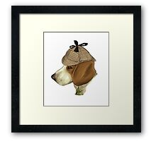 Sherlock Hound Framed Print