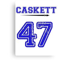 Caskett 47 Jersey Canvas Print