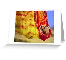 Little Feet Greeting Card